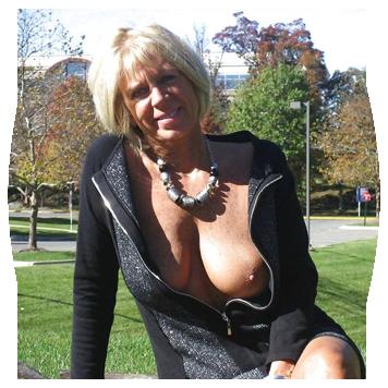 Sexes modne nakne damer